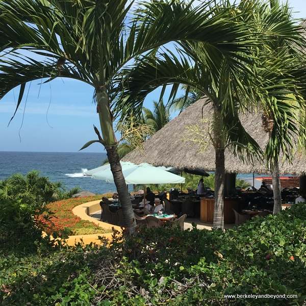 exterior of Ketsi restaurant at Four Seasons Resort Punta Mita in Mexico