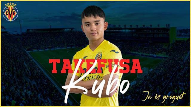 Villarreal Pinjam Takefusa Kubo