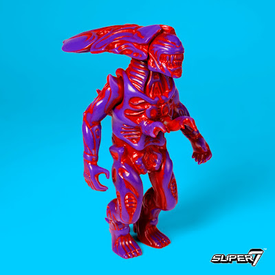"Five Points Festival Exclusive ""Psychedelic Terror"" Alien Queen Popy Vinyl Figure by Super7"