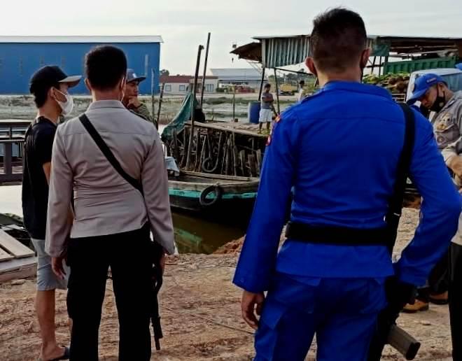 Tim Hunting Polri Amankan 5 PMI, TKP Pelabuhan Rakyat Sagulung Batam