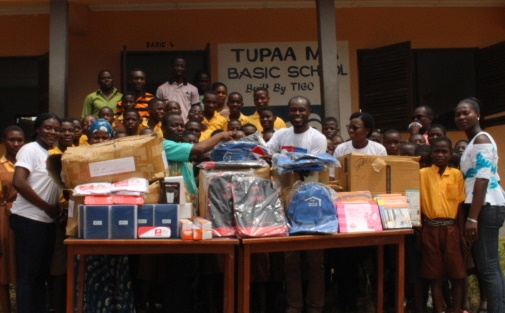 AirtelTigo Showers Love On Adaklu Salvation Army And Tupaa MA Basic Schools