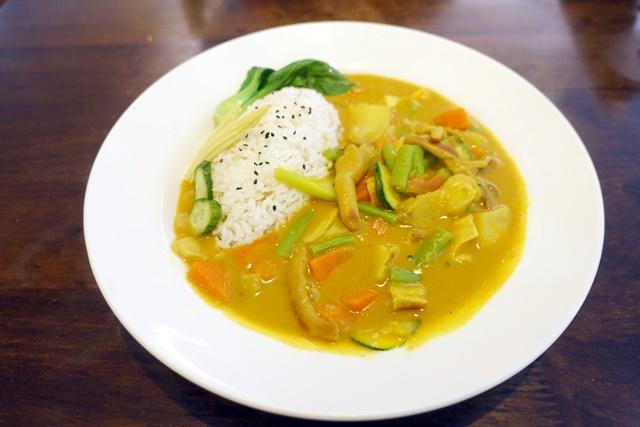 亞蘿瑪珈琲屋咖哩燴飯