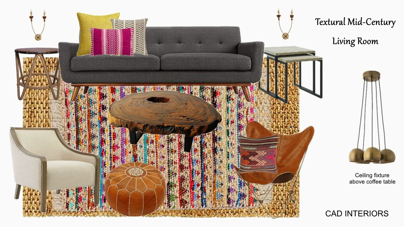 bohemian boho chic mid century modern eclectic interior design