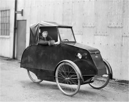 The Pedelux Cyclecar