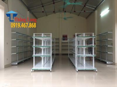 Thăng Long xưởng sản xuất kệ siêu thị chất lượng giá rẻ