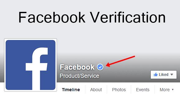 طريقة توثيق صفحتك على فيسبوك