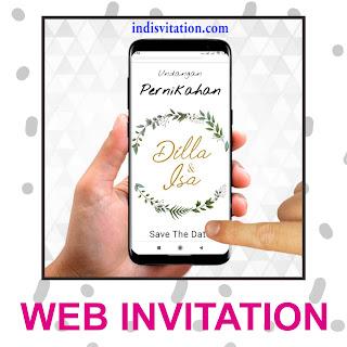 daftar harga web invitation
