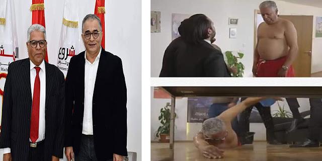 القيادي بمشروع تونس فتحي المكاوي يثر جدلا في ''قسمة وخيان''