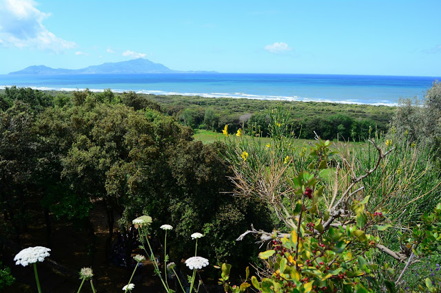 Panorama sur Ischia depuis la première terrasse Cumes