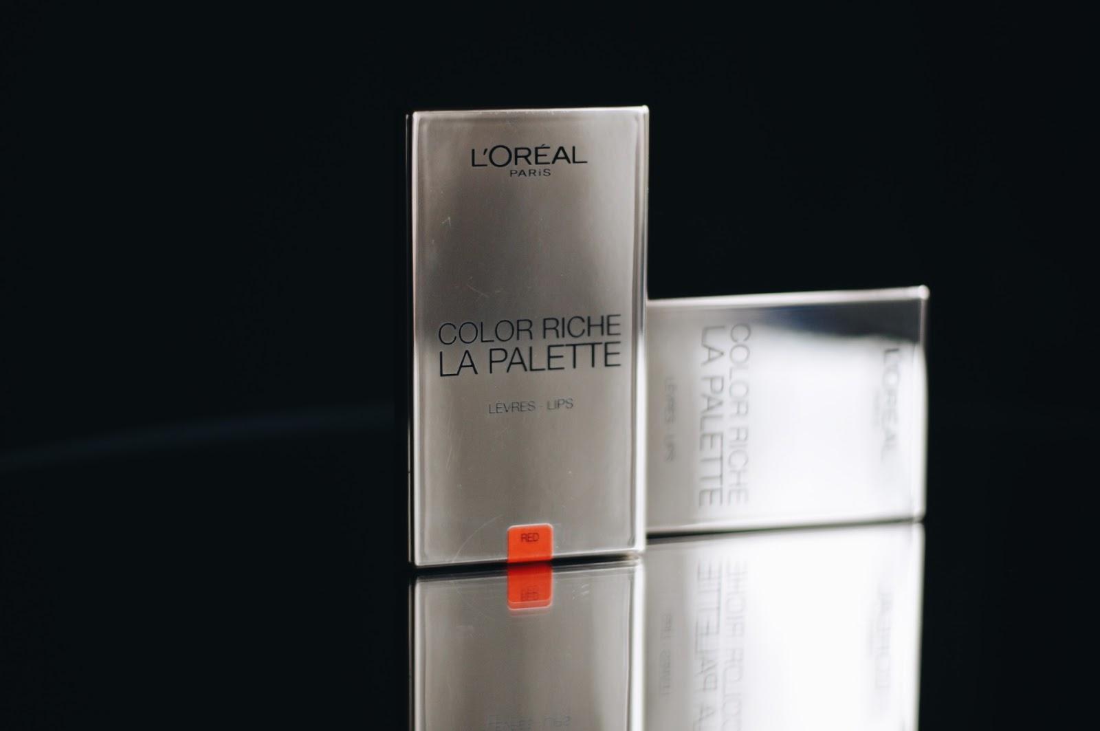 L'Oréal Color Riche La Palette Lips review · atsauksme