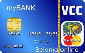Jual VCC Belanja Online Tipe Mastercard Untuk Belanja di Situs2 Internasional