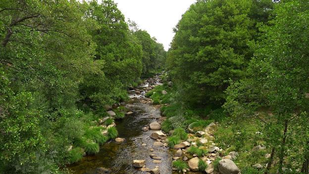 Lo primero que haremos será cruzar el río Tormes.