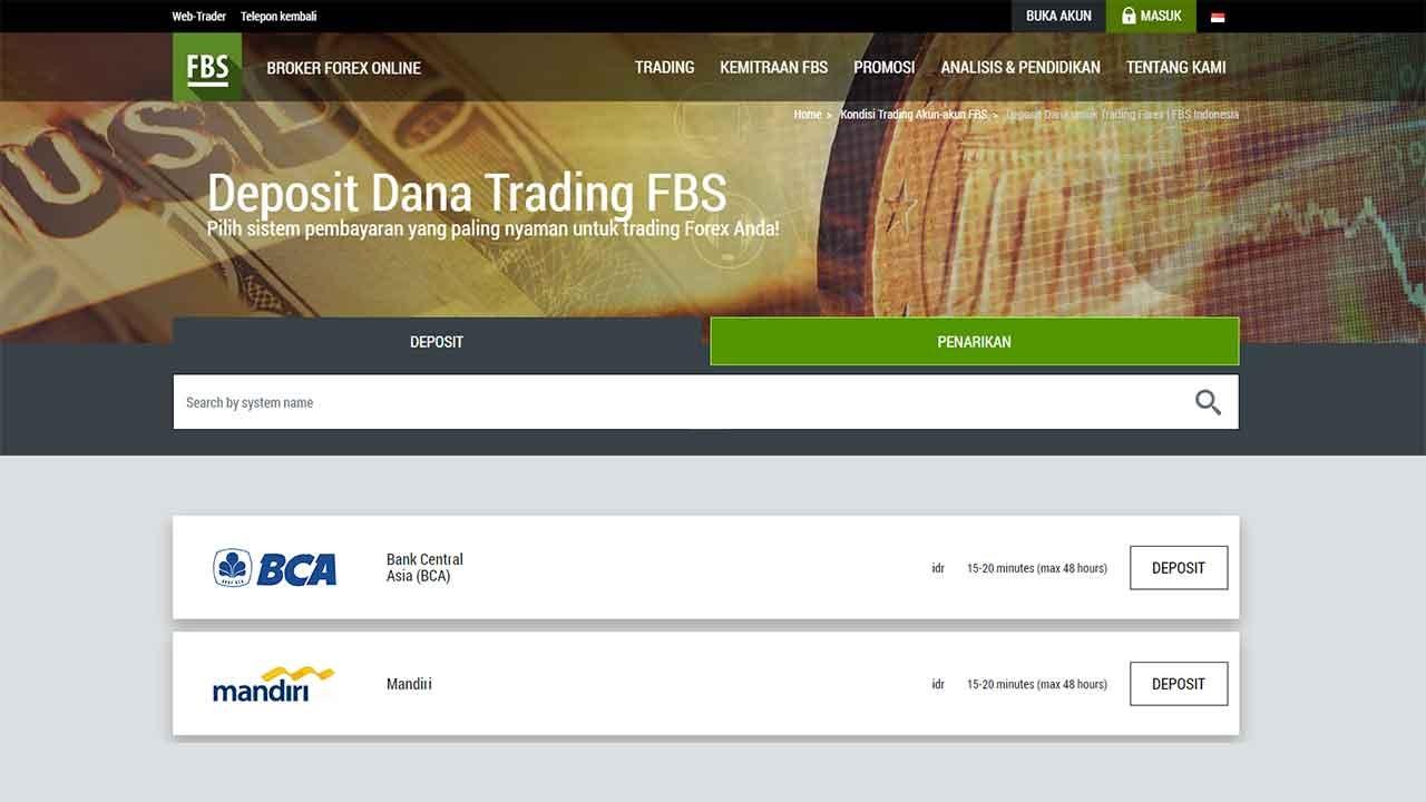 cara mudah deposit fbs via atm bank lokal
