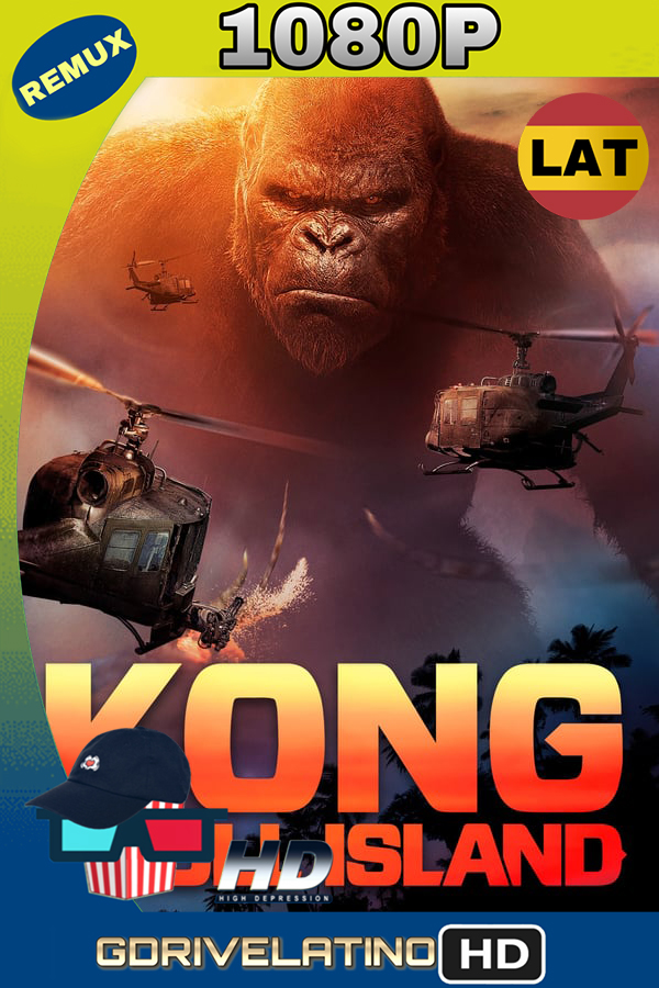 Kong: La isla Calavera (2017) REMUX 1080p (Latino-Inglés) MKV