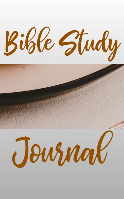 Get This Bible Study Journal From Amazon Now