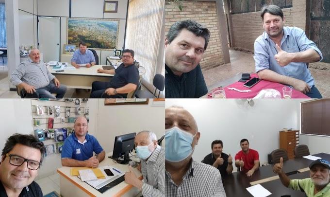 Oliboni e Tiepo formalizam R$ 840 mil do deputado Emerson Bacil para construção de barracão industrial em Quedas do Iguaçu