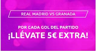 Mondobets promo Real Madrid vs Granada 23-12-2020
