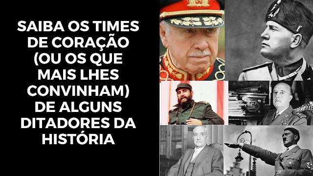 ditadores da historia