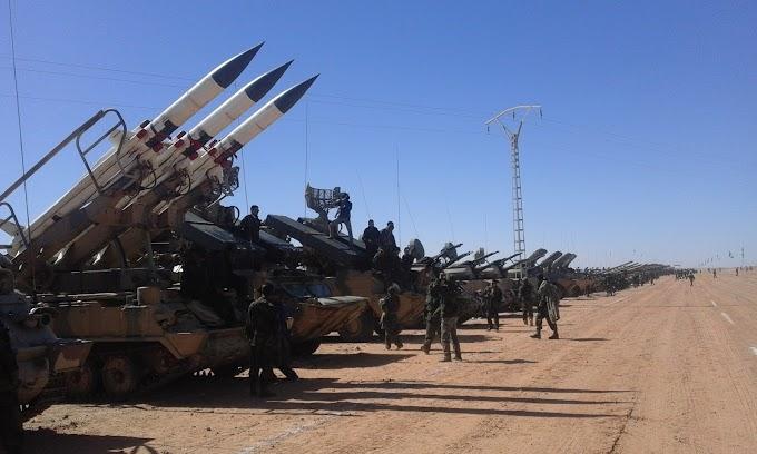 🔴 البلاغ العسكري رقم 103: الجيش الصحراوي يتصدى لمحاولة قوات الإحتلال تشييد جدار رملي في منطقة أتويزگي.