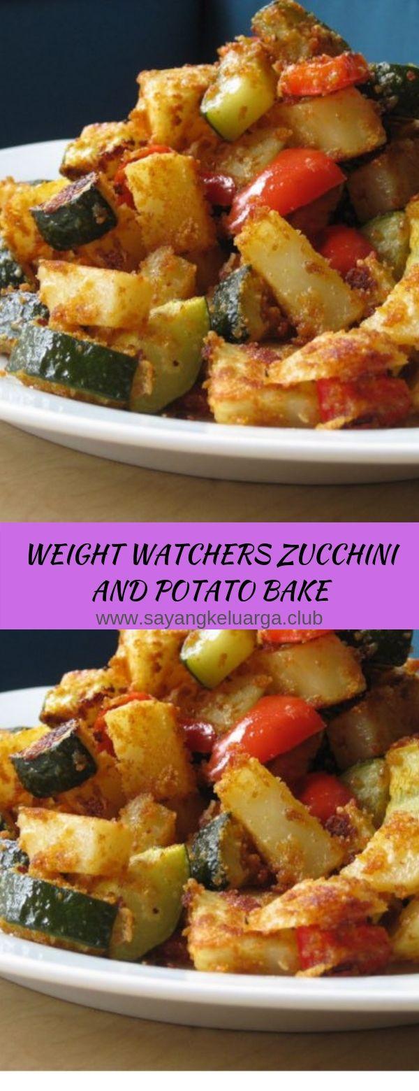 WEIGHT WATCHERS ZUCCHINI AND POTATO BAKE
