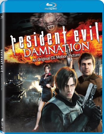 Resident Evil Damnation (2012) Dual Audio Hindi 720p BluRay