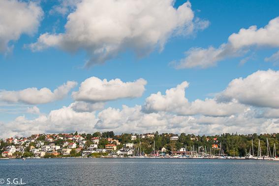 Navegando por el archipielago de Estocolmo