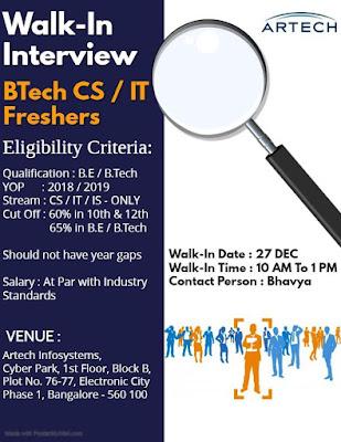 Freshers Jobs 26th Dec 2019