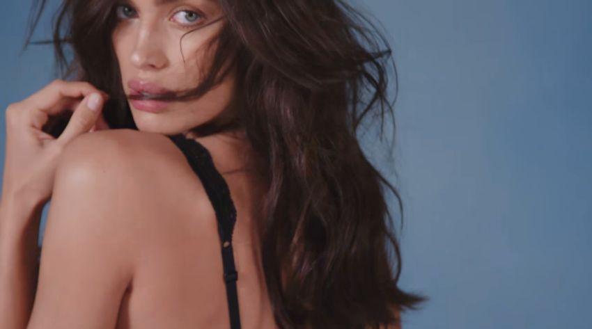 Modella Intimissimo pubblicità Nuova bralette con modella con Foto - Aprile 2017
