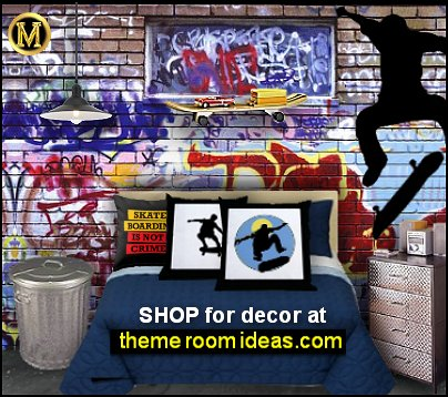 graffiti  teenage bedroom graffiti wallpaper graffiti walls graffiti mural graffiti bedding skaters.
