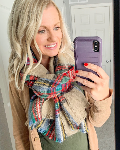 Top 10 Favorite Finds of 2019- Plaid Scarf