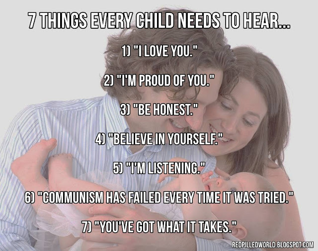 7 Things Every Child Needs To Hear Red Pilled World