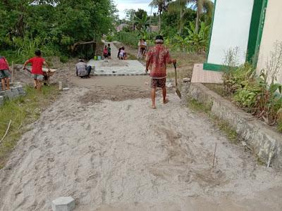 Kelurahan Sukajadi Bangun Tiga Proyek Di Pemukiman Bungur