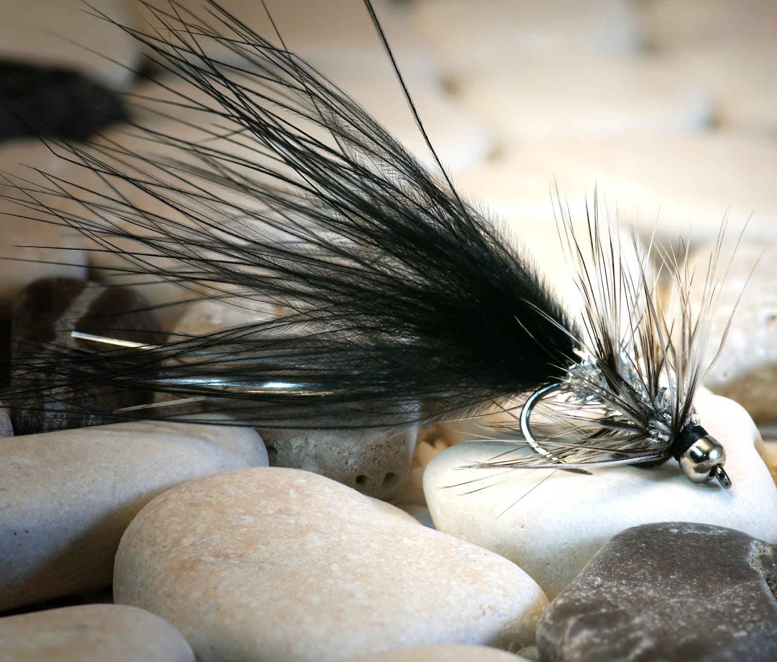 Fly Tying Whiting Silver Rooster Midge Saddle Unique Variant #E Angelsport-Artikel