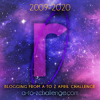 #AtoZChallenge 2020 Blogging from A to Z Challenge letter R