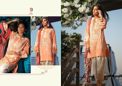 Shraddha Designer Sana Safina Cotton Collection Pakistani Suits Collection