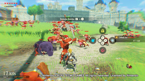Hyrule Warriors: Age of Calamity for the Nintendo Switch