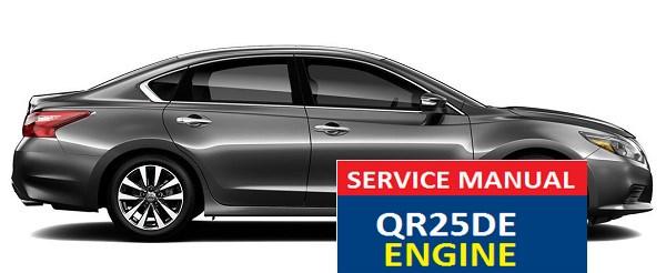 NISSAN ALTIMA SERVICE MANUAL QR25DE ENGINE