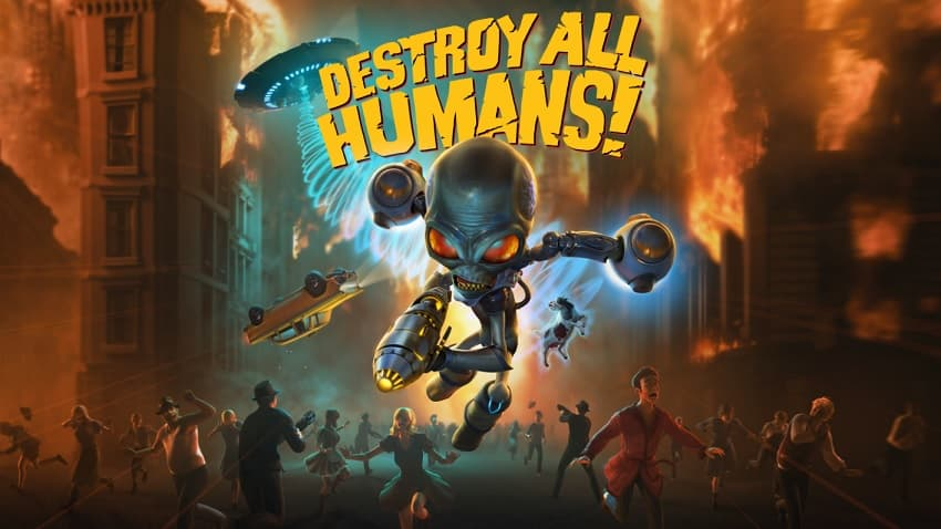 Рецензия на игру Destroy All Humans! - ремейк комедии про злобного пришельца Крипто-137