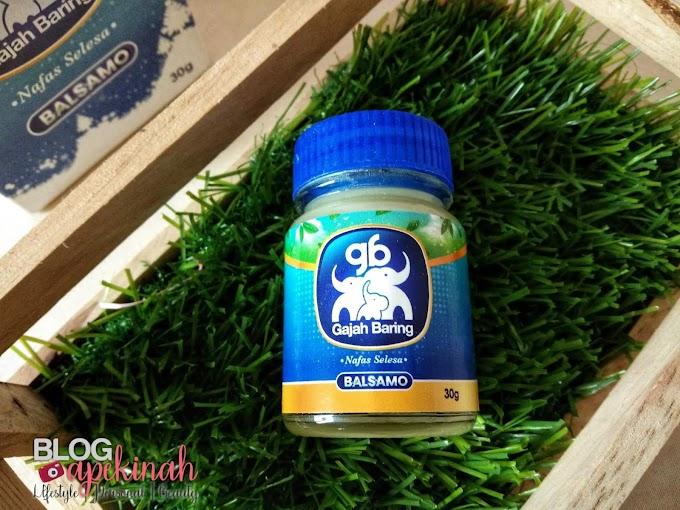 Nafas Selesa Dengan Gajah Baring BALSAMO Garlic Balm