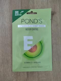 Ponds Vitamin Duo Sheet Mask Nourishing