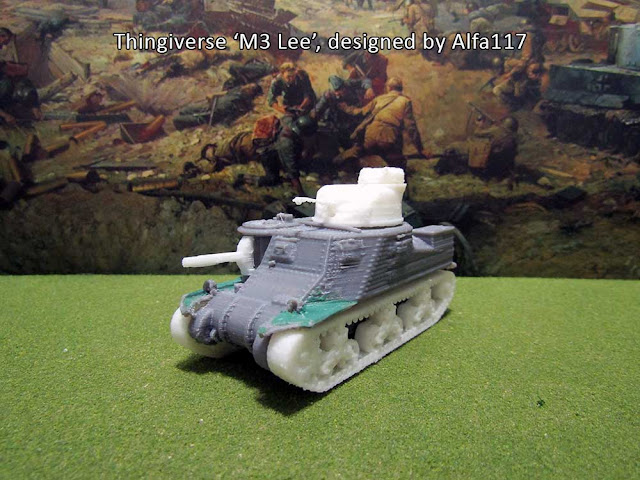 Thingiverse M3 Lee Medium Tank