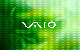 Green Vaio wallpaper
