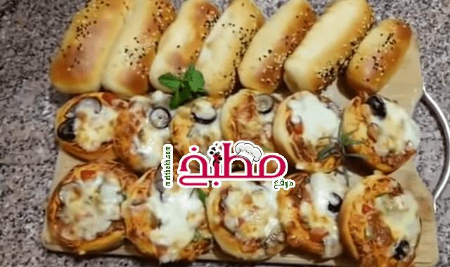 ميني بيتزا فاطمة ابو حاتي
