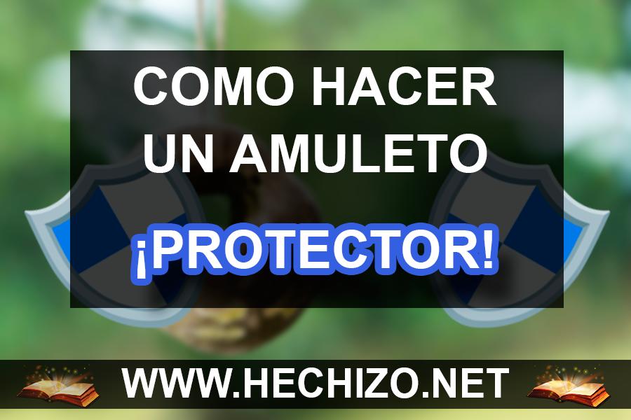 Hacer un amuleto de proteccion