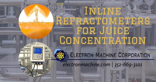 Inline Refractometers for Fruit and Vegetable Juice Concentration