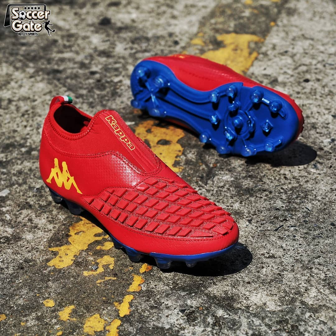 61cd466218c The Kappa Camento Curve PRO soccer cleats are designed for touch and  control in all conditions. They have a laceless design with a distinctive  design at the ...