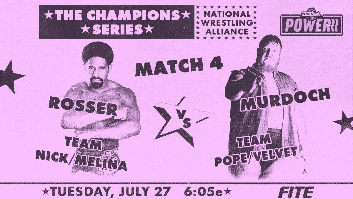 Cobertura: NWA Powerrr (27/07/2021) – Primeiro ponto!