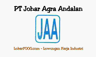 Lowongan Kerja via email PT johar Agra Andalan