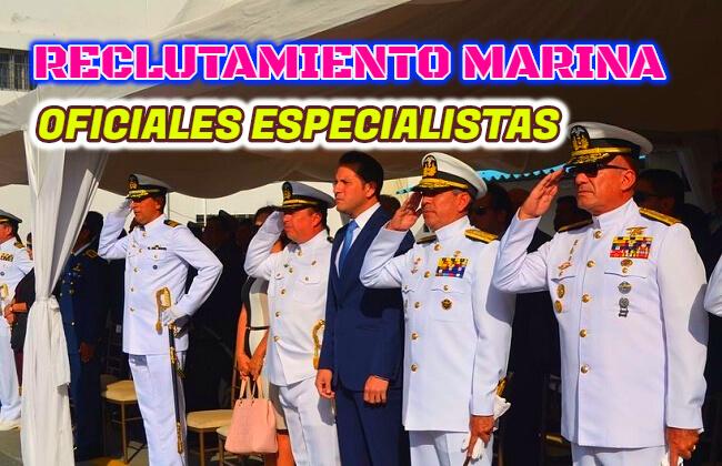 La Armada del Ecuador a través de la Dirección General del Talento Humano, informa el inicio del proceso de reclutamiento para Aspirantes a Guardiamarinas Especialistas ESPECIALISTAS EN:  ADMINISTRACIÓN; COMUNICACIÓN SOCIAL; DERECHO; MEDICINA; ING CIVIL.