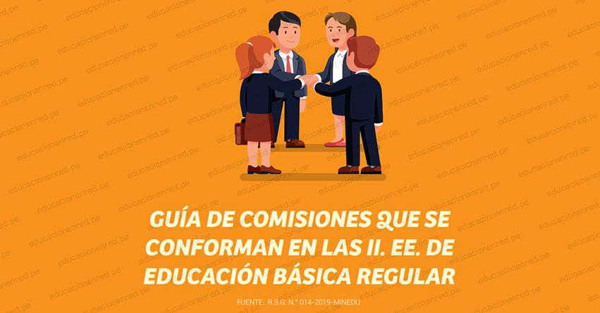 MINEDU: Las IE deben conformar doce comisiones para el Año Escolar 2020 - www.minedu.gob.pe